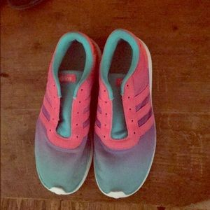 Girls Adidas tennis shoes
